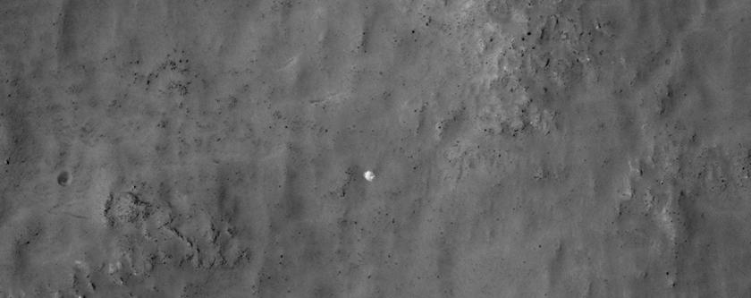 ¿Podría ser esto el módulo de aterrizaje Soviético Mars 3?