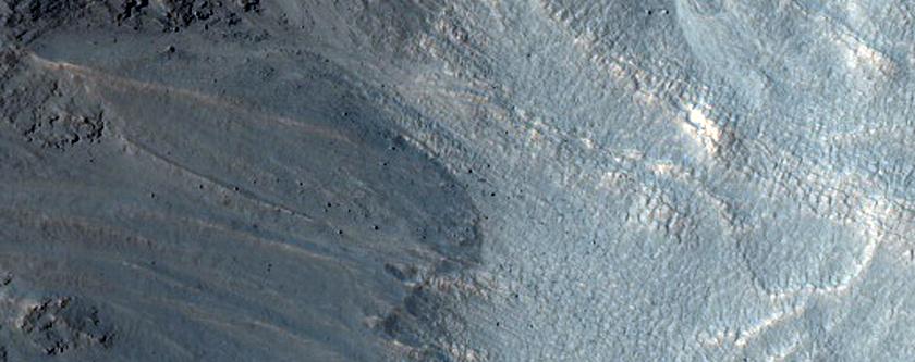 Gullies in Noachis Terra