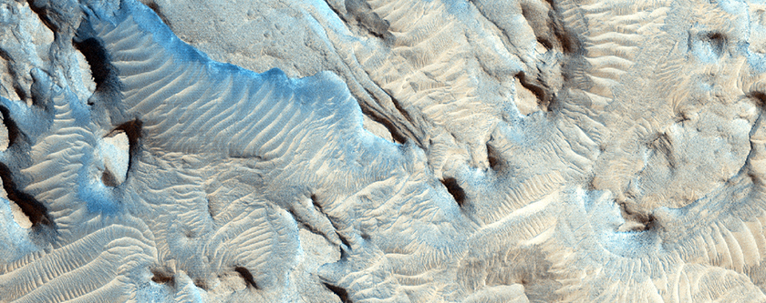 Small Channels and Rocky Patch in Cydonia Region