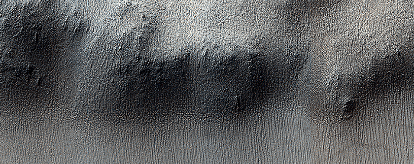 Knob in the South Polar Layered Deposits of Mars