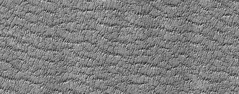 Bright Arcuate Feature on South Polar Layered Deposits