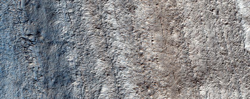 Eastern Wall of Chasma Australe along Margin of Promethei Lingula