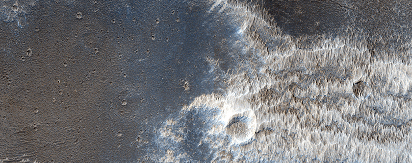 Bright Dunes South of Echus Chasma