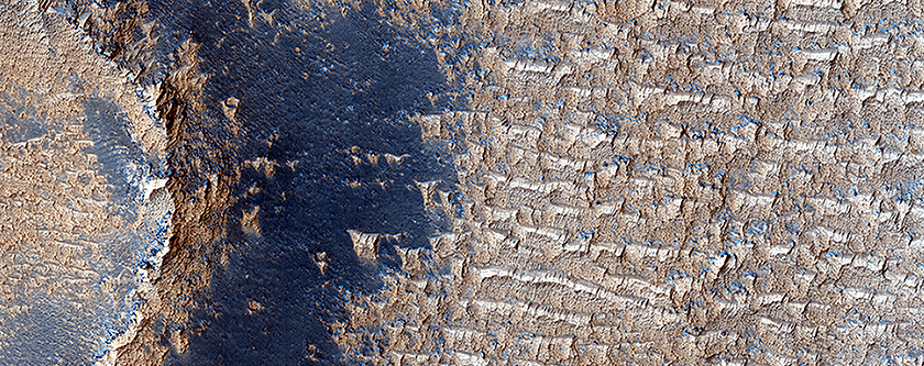 Bright Dunes in Syria Planum