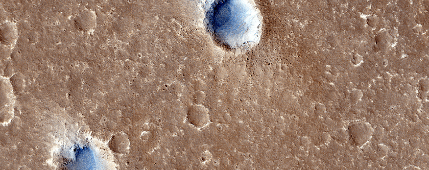 Candidate Landing Site for InSight Mission