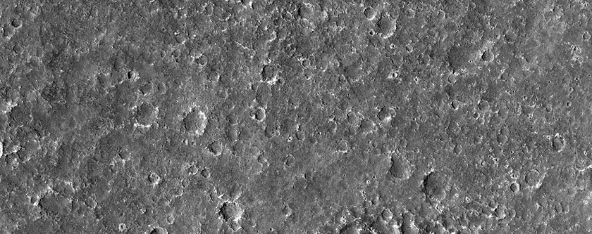 Possible Future Landing Site for InSight Mission