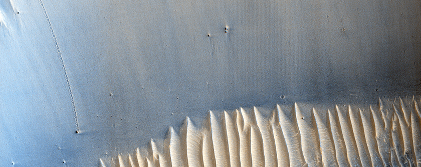Monitoring Arabia Terra Dune Field