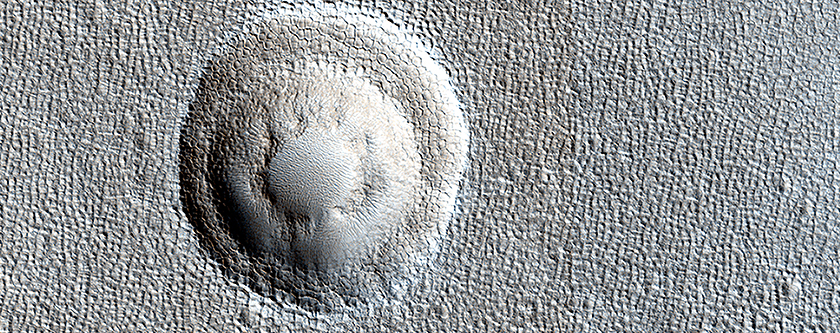 Terraced Craters and Layered Targets