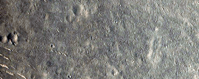 Steep Inner Wall of Cone in Amenthes Region
