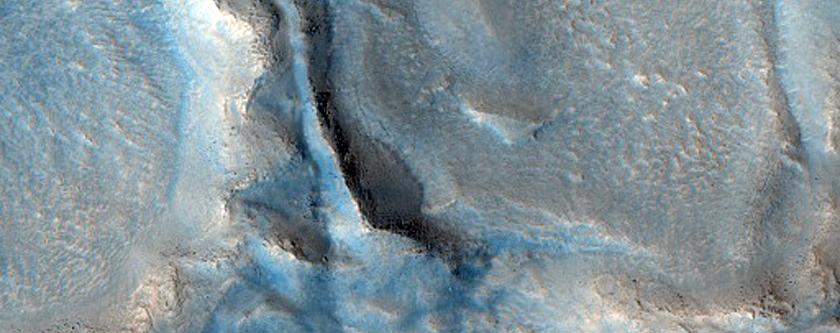 Acidalia Region Mineralogy