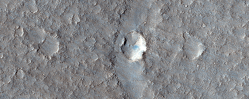 Hints of an Ancient Shoreline in Southern Isidis Planitia