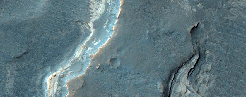 Light-Toned Layered Deposits in Uplands West of Ladon Valles Basin