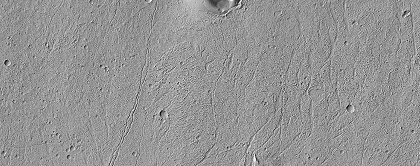 Volcanic Landform in Echus Chasma