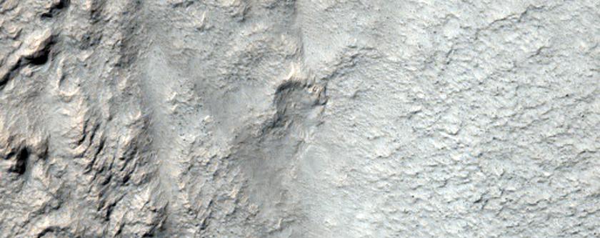 Intra-Valley Lobate Debris Apron
