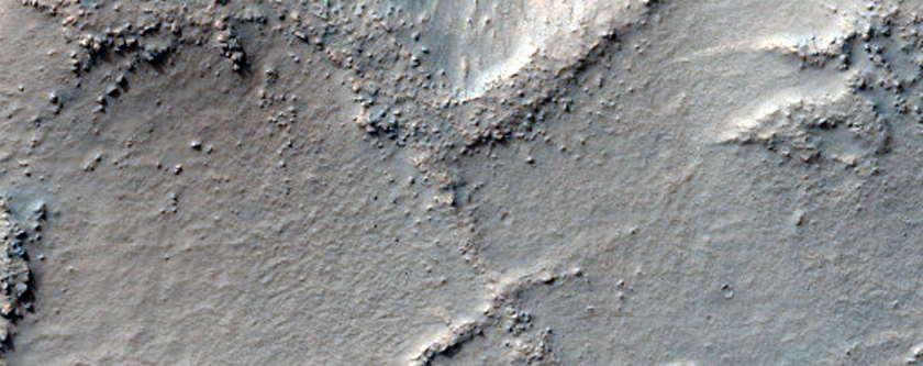 Layered Knob in Northwest Hellas Planitia
