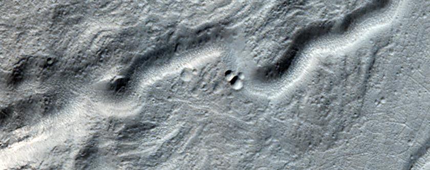 Fine Valley Network in Terra Cimmeria