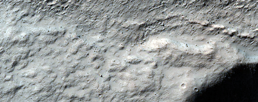 Monitor Crater Slope in Terra Sirenum