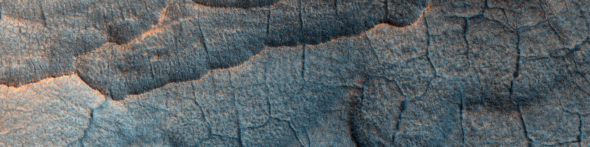 Die Oberfl�che von Utopia Planitia