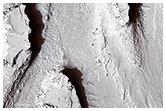 Canale di tracimazione dall'Athabasca Vallis