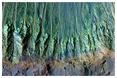 Uma cratera rica em minerais