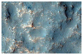 Possible Hydrated Mineral Signature North of Hellas Planitia