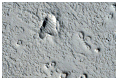Cratered Cones Near Marte Vallis Outlet