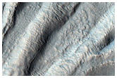 Gullies in a Crater Northeast of Eudoxus Crater
