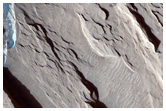 Dark Sediments in Medusae Fossae Formation