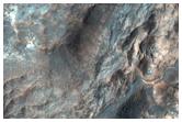 שכבות לצפון-מזרח ממישור הלאס פלניטיה (Hellas Planitia)