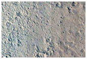 Transition From Fan To Flow Feature in Northwest Nicholson Crater