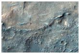 Ancient Valleys Exposing Bedrock