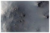 Central Peak of Impact Crater in Arabia Terra