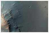 Flow on Floor of Isil Crater