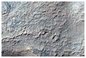 Cross Section of Reull Vallis South Wall Region