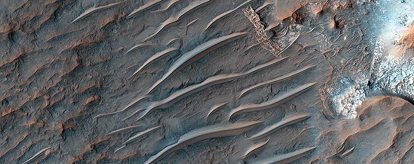 Impresionates imagenes de las Dunas de Marte