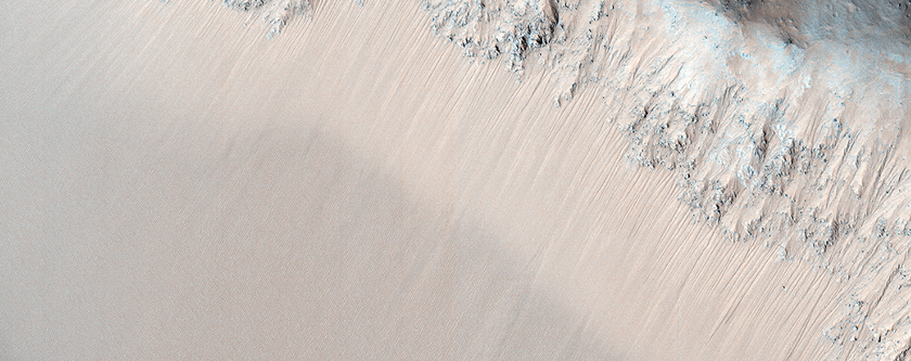 Recurring Slope Lineae in Juventae Chasma