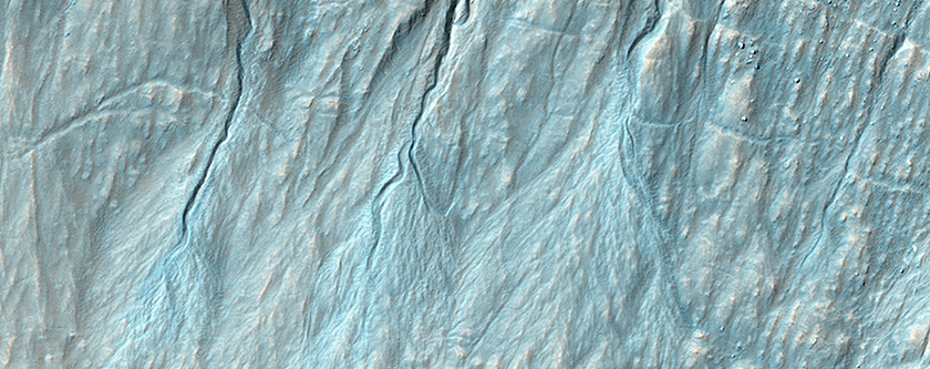 A New Gully Channel in Terra Sirenum