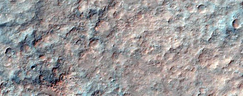 Coprates Chasma Layered Mound