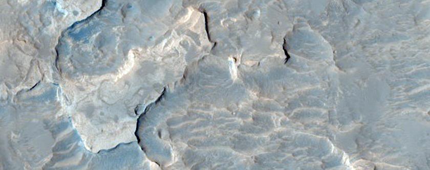 Outcrop in Arabia Terra