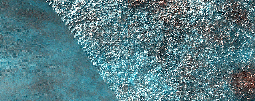High-Altitude Clouds on Mars