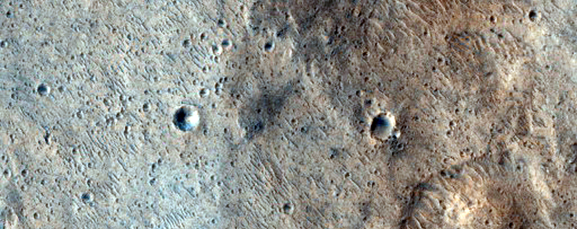 Proposed Landing Site for ExoMars Rover at Hypanis Vallis