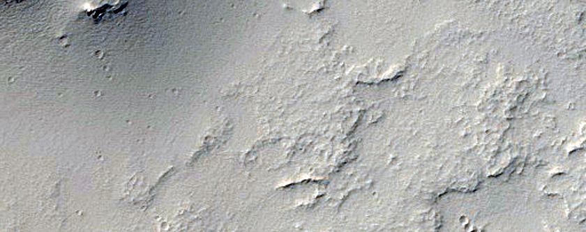 Eroded Cone in Noctis Fossae