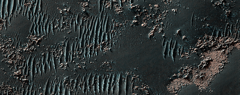 Squiggly Sand Dunes