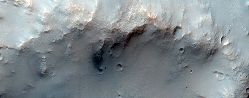 Airy Crater Dune Changes