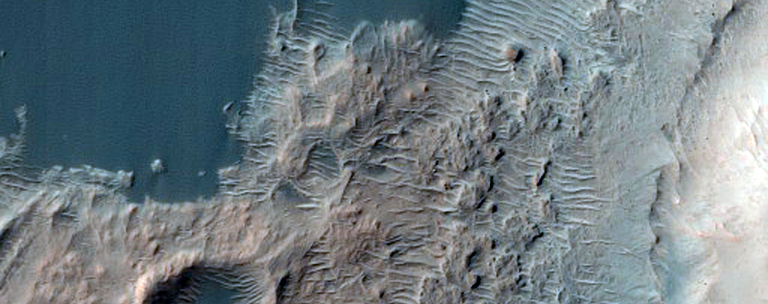 Active Dune Monitoring in Ganges Chasma