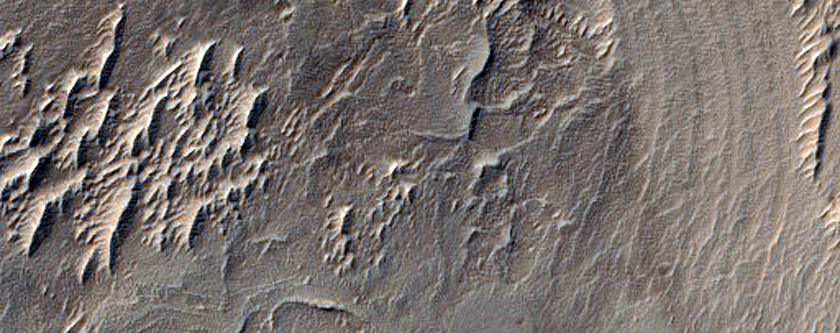 Banded Terrain in Gigas Sulci