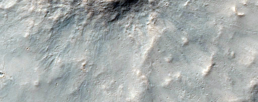 Possible Recent Crater
