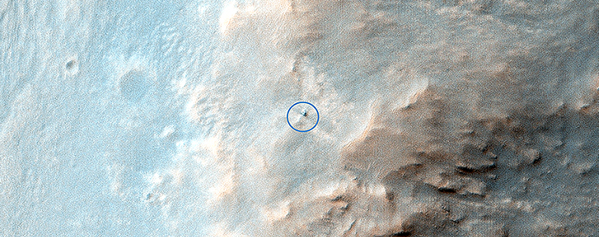 Opportunity Rover on Valentine