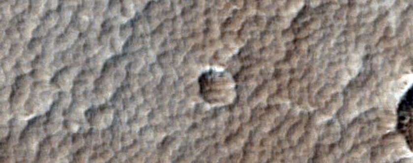 Lava Surfaces Northeast of Arsia Mons