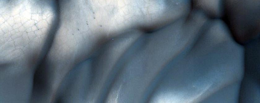 High-Latitude Intercrater Dunes